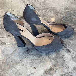Giorgio Armani suede heels